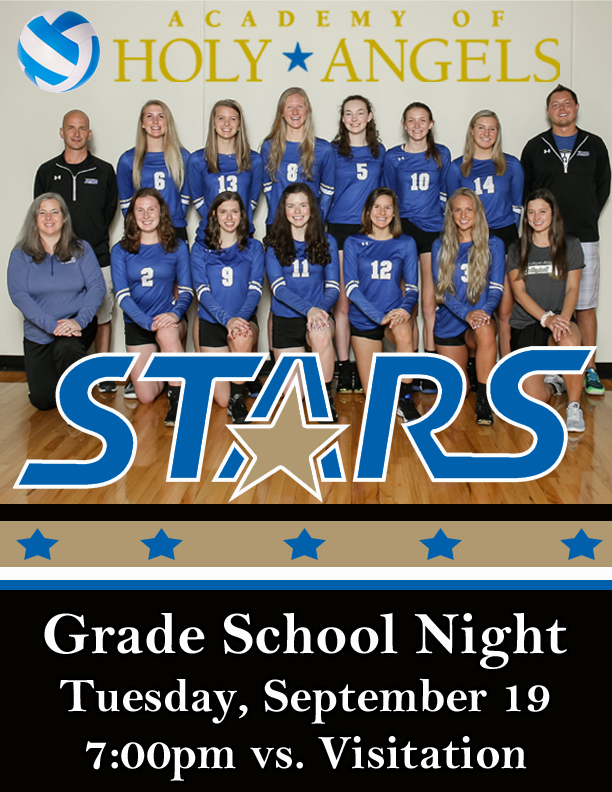 Grade School Night - September 19!