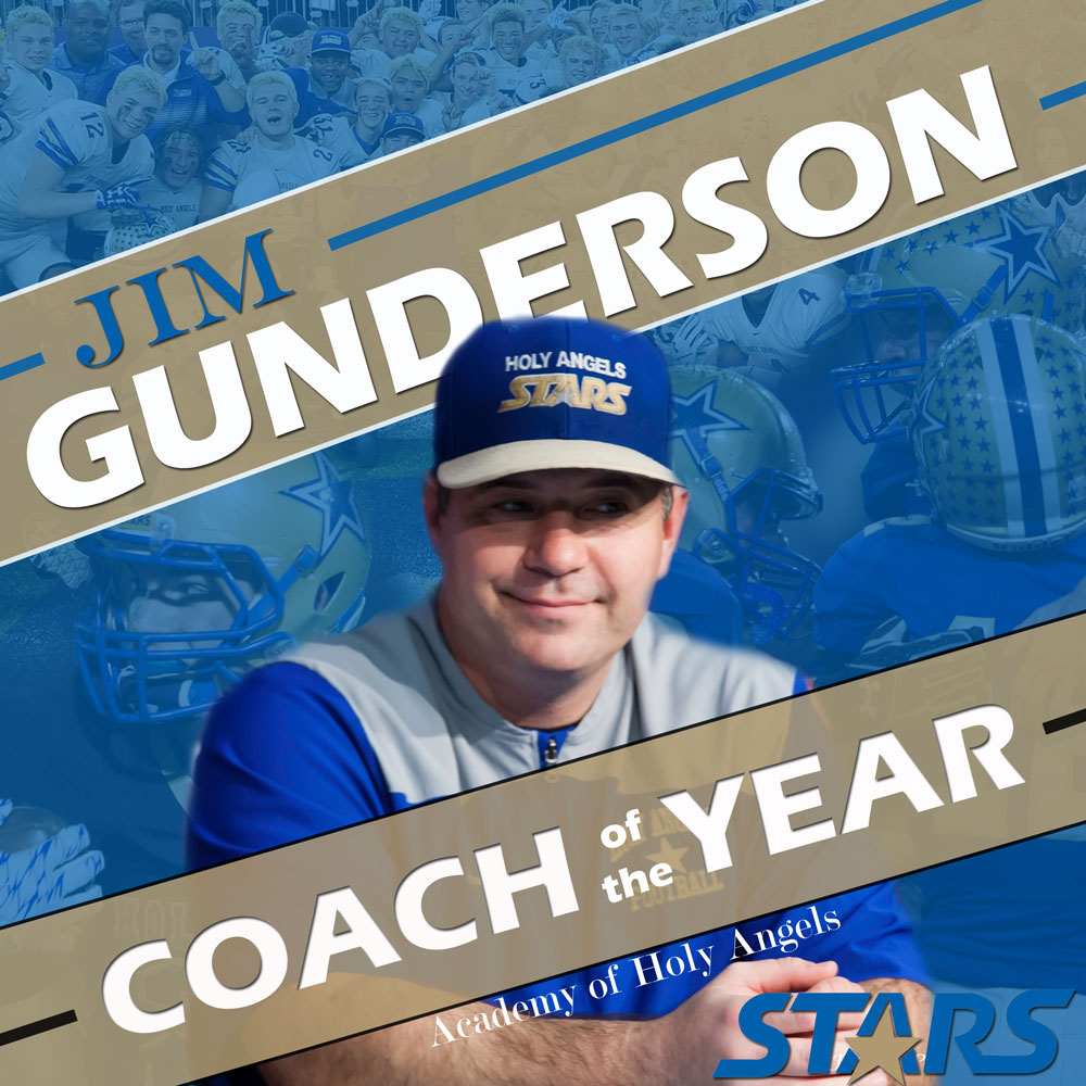 Jim Gunderson Named Coach of the Year