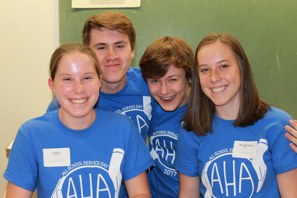 Over 700 AHA Community Members Serve 2,200 Hours