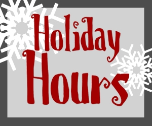 Christmas Break Office & Building Hours