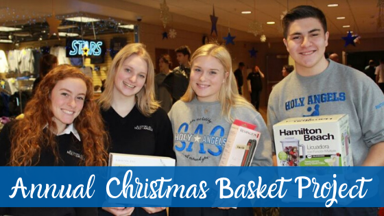 AHA Community Kicks Off Christmas Basket Project