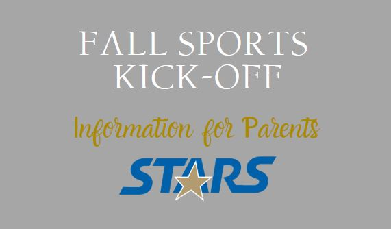 Fall Sports Information