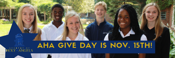 TODAY is AHA Give Day!