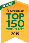 Top 150 Workplaces 2019